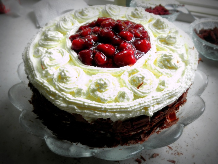 Raspberry and Cream Chocolate Layer Cake | Let Them Eat Cake! | Pinte ...