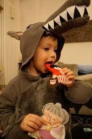 Risultati immagini per costume halloween lupo bambino