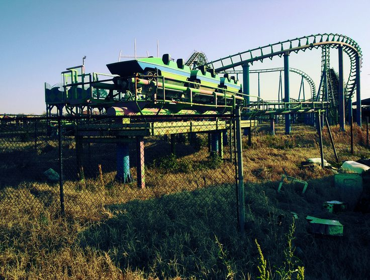 Best ABANDONED AMUSEMENT PARKS Images On Pinterest Abandoned - 10 years hurricane katrina six flags theme park new orleans still lies abandoned 10 years