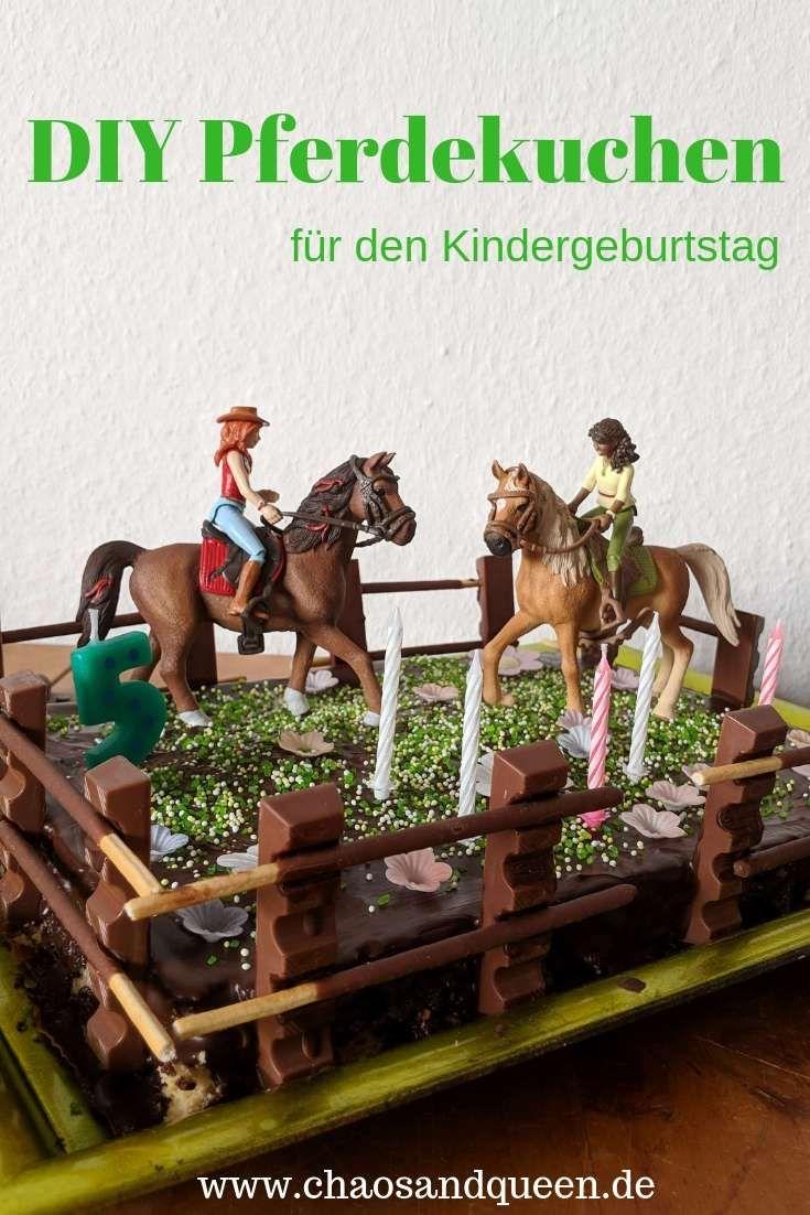 DIY Pferdekuchen für den Pferdegeburtstag des Chaosmädchens