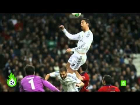 Cristiano Demuestra Su Poderio Fisico Con Un Salto Imponente