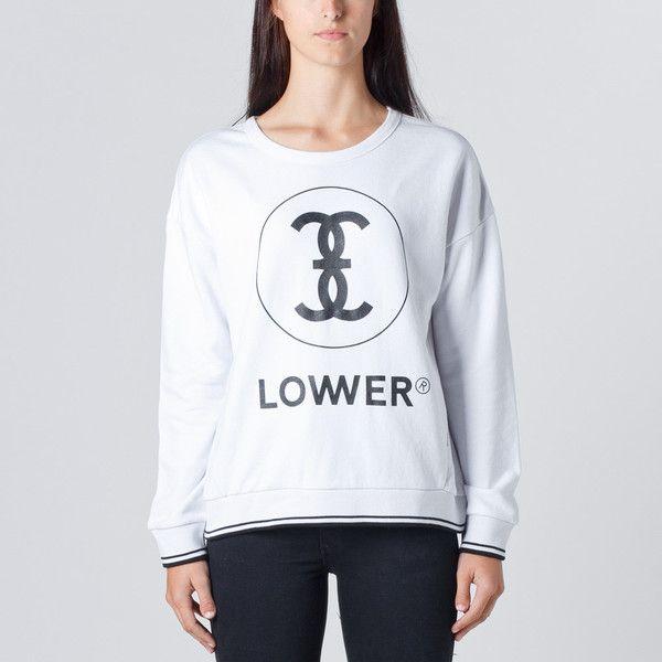 Lower Split Crew / Channel 3 - White   Thanks Store Online