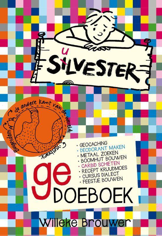 Van Willeke Brouwer kreeg ik haar Silvester (Ge)doeboek. Erg leuk. Ik heb al eerder boeken voor haar over Silvester (Silvester en het knorrende cadeau en Silvester en de vreemde voorouder) mogen reviewen, en dit is natuurlijk en heel speciale.   #cartoon tekenen #doeboek #feitjes #metaaldetector #proefjes #silvester #Willeke Brouwer
