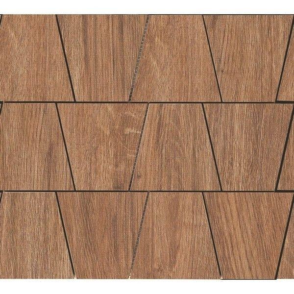 #Ragno #Woodliving #Mosaik Rovere Scuro 30x33 cm R40Q | Feinsteinzeug | im Angebot auf #bad39.de 198 Euro/qm | #Mosaik #Bad #Küche