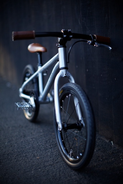 Early Rider Belter - our first pedal bike. Aluminium and carbon, belt drive, under 6kg.