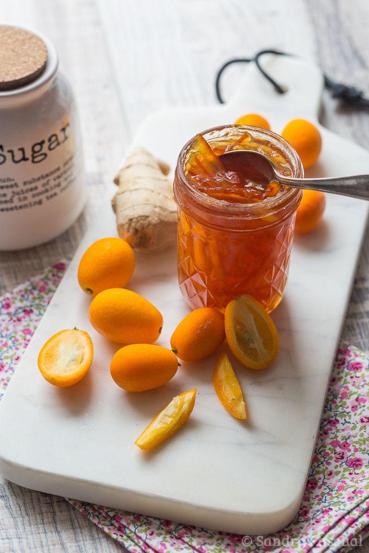 Confiture de Kumquats au Gingembre