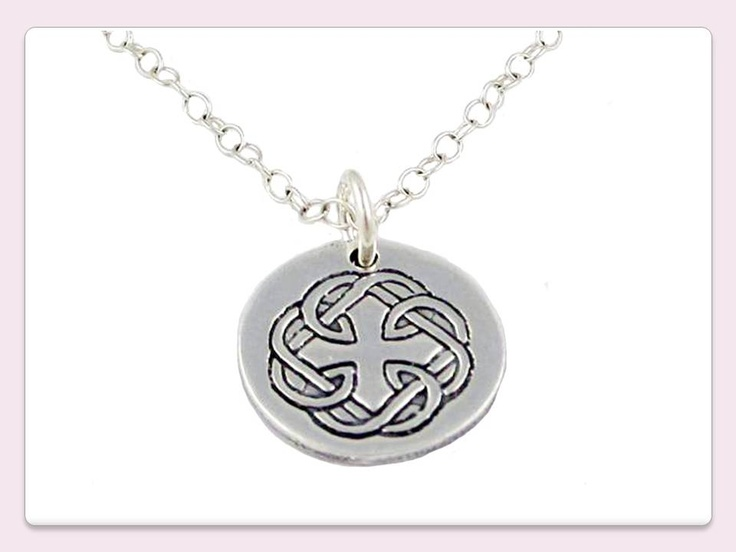 Father Daughter Celtic Knot Necklace Sterling Silver Gift Ideas Pinterest Knot Necklace Daughters And Celtic Knots