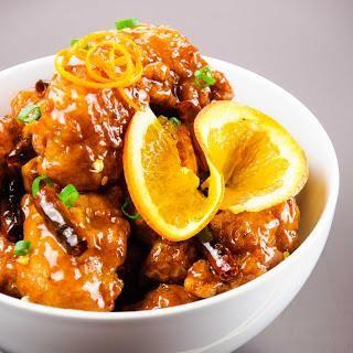 Chicken Recipes : Orange Chicken
