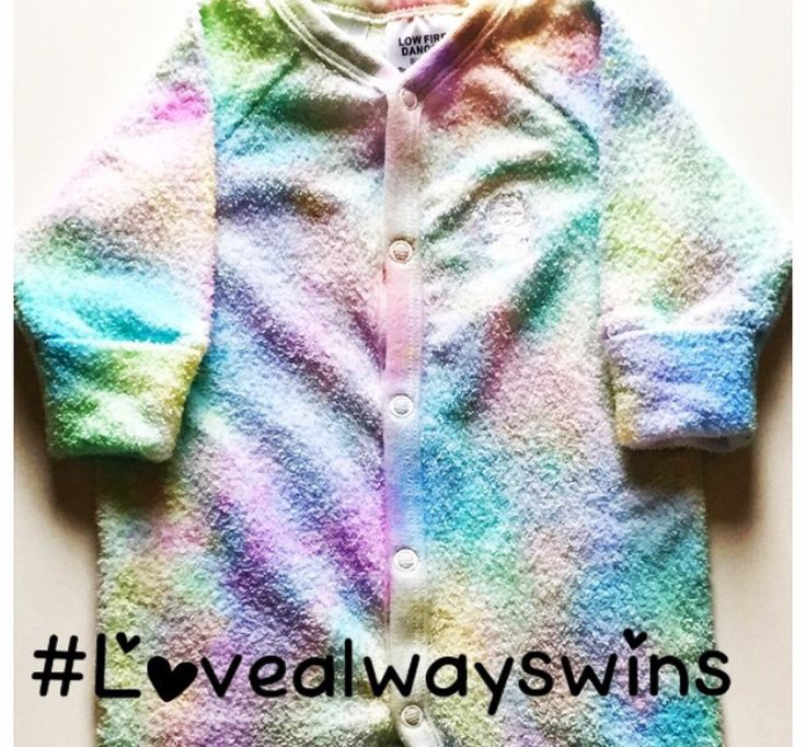 Hand Dyed Rainbow Coveralls