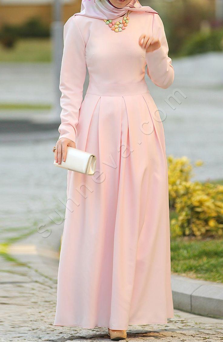 Prenses Elbise - Pudra