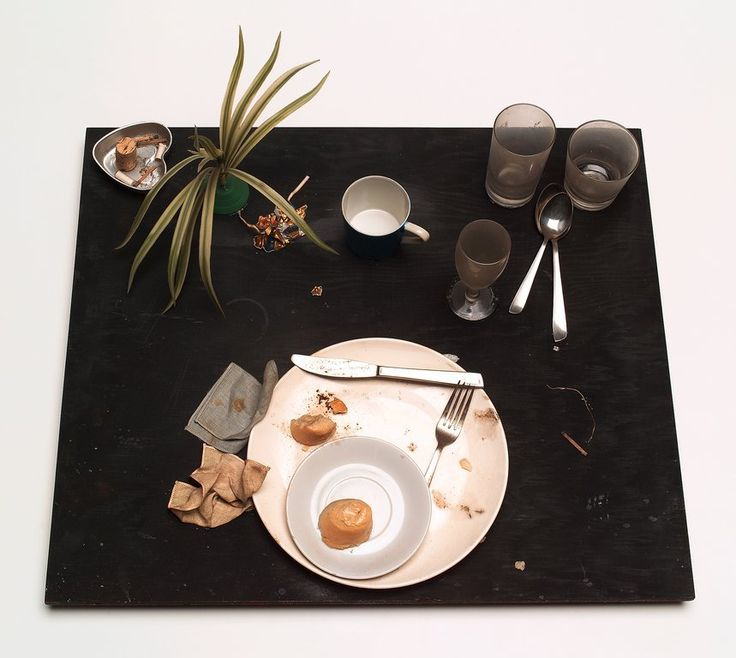 31 Variations on a Meal: Eaten by Bruce Conner, Daniel Spoerri