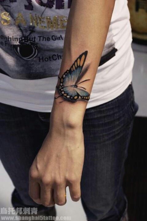 Love 3D tattoo art!