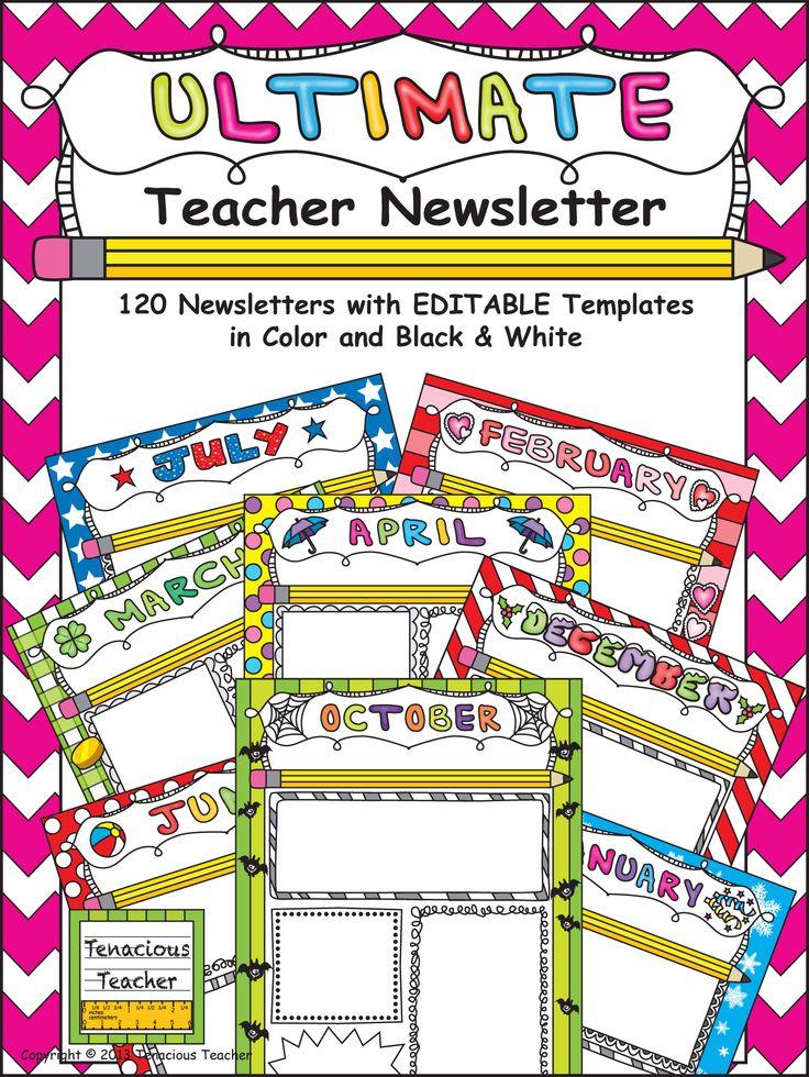 Ultimate Classroom Design : Best teacher newsletter ideas on pinterest parent