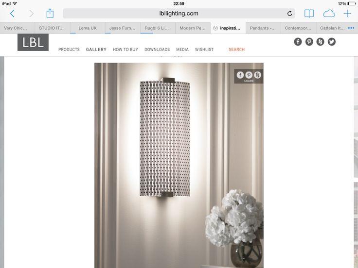Lbl lighting - idea for pillar light - but too big