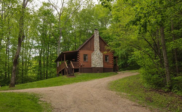 Cabin vacation rental in Hocking Hills from