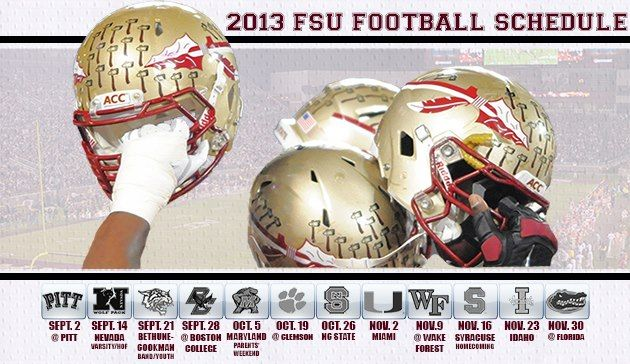 2013 FSU Football Schedule