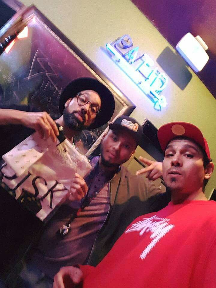 In Los Angeles,caught Pigeon John doing a show had to go show some love to a dope MC. #hiphopappreciation #pigeonjohn #stbread #streetbread