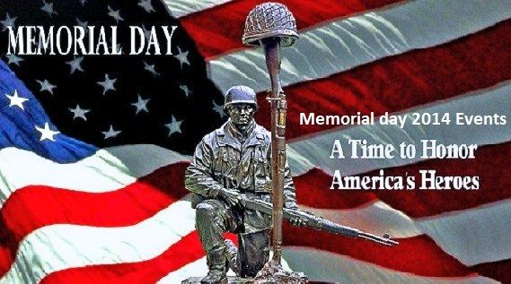 Events if Memorial day 2014