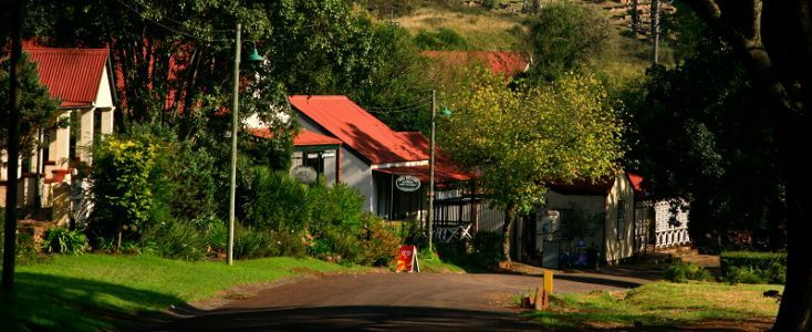 Pilgrim's Rest is located on Mpumalanga's magnificent Panorama Route. It was here that gold was first discovered in South Africa.