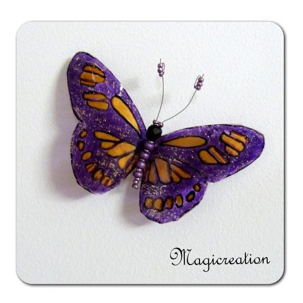 MAGNET PAPILLON JUNON - Boutique www.magicreation.fr