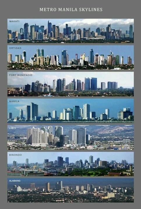 Metro Manila skylines