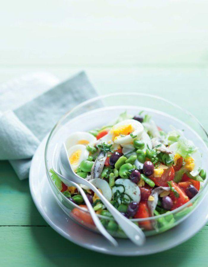 La vraie salade niçoise recette pas chère
