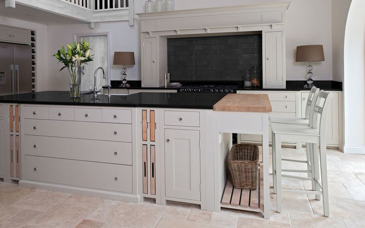 Clean and simple lines - check out www.countrykitchens.com for more advice and information on Neptune Kitchens and their bespoke handcrafted Irish Kitchens