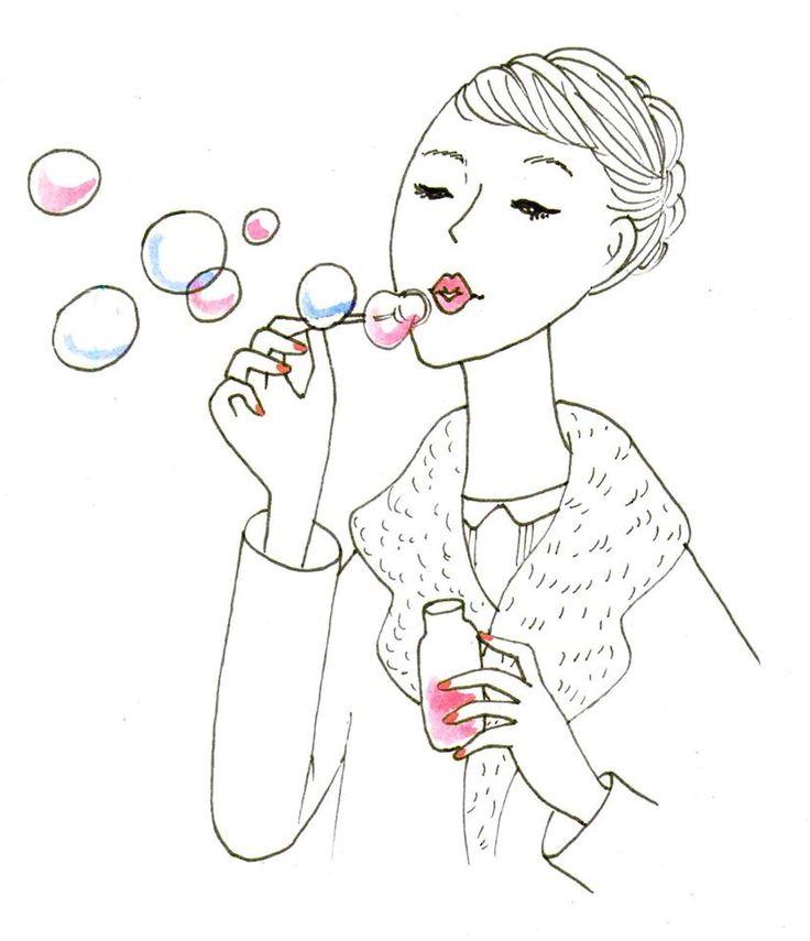 """""""Le bonheur est une bulle de savon qui change de couleur comme l'iris et qui éclate quand on la touche"""". Honoré de Balzac"""