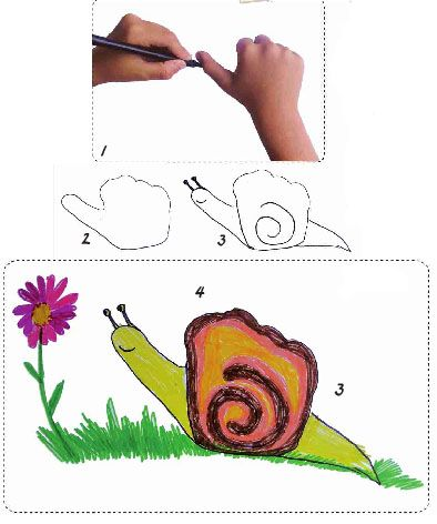 Pictures for children to paint. Painting for children is a fascinating activity