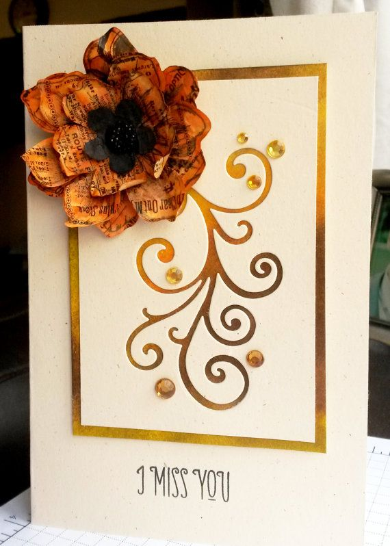 The 80 best my handmade greeting cards images on pinterest handmade 3d paper cut watercolour flourish and flower by sbscards m4hsunfo