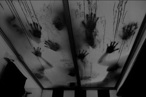 submitted byvykkyvonmaiy- Feel like a shower ?Halloween Decor, Hands, Shower Doors, Beds Sheet, Bathroom Shower, Blood, Shadows, Zombies, Halloween Ideas