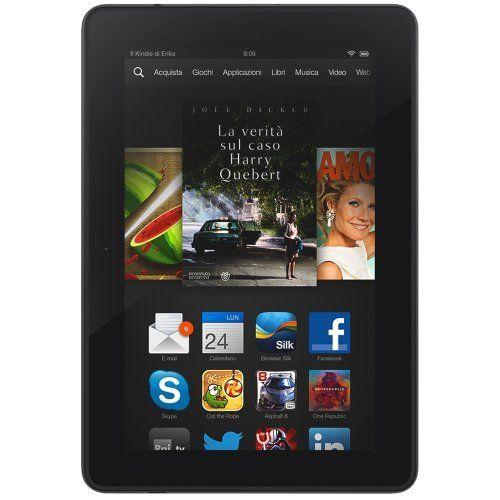"Kindle Fire HDX 7"", schermo HDX, Wi-Fi, 16 GB - Con offerte speciali, http://www.amazon.it/dp/B00D2J4D4U/ref=cm_sw_r_pi_awd_.NN-sb052PKXE"