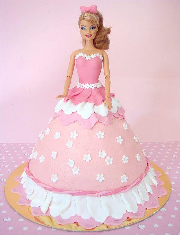 Sugestões de bolos e decorações da Barbie   Inspire sua festa
