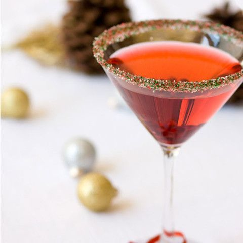 Christmas cocktail rimming sugar - Deck the Halls and add sparkle and fun to your Christmas party and wedding drinks! By Dell Cove Spice Co., Chicago, Illinois - http://www.dellcovespices.com