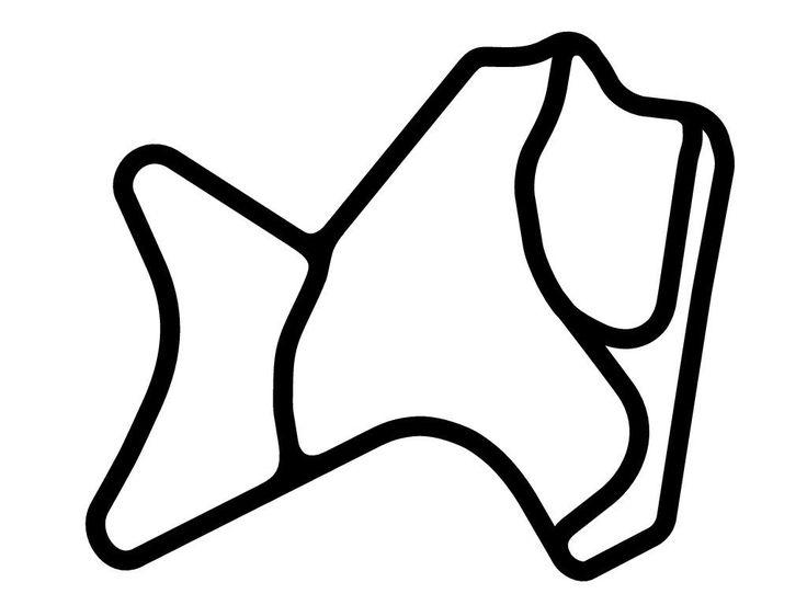 Morgan Park Raceway Decal   TrackDecals