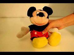 Hacer peluche de Mickey Mouse
