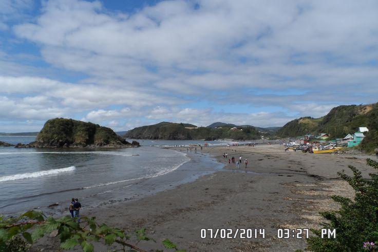 Vista de Puñihuil maravilloso