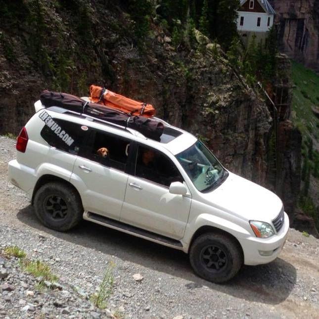Black Bear Pass in CO #ih8mud #offroad #wheeling #Lexus #gx470