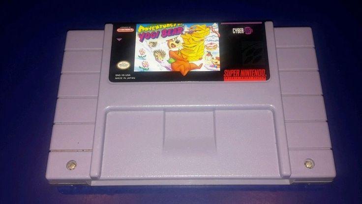 Adventures of Yogi Bear (Super Nintendo Entertainment System, 1994) 913675913675 | eBay