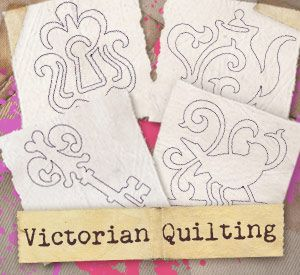 Victorian Quilting (Design Pack) | Urban Threads: Unique and Awesome Embroidery Designs