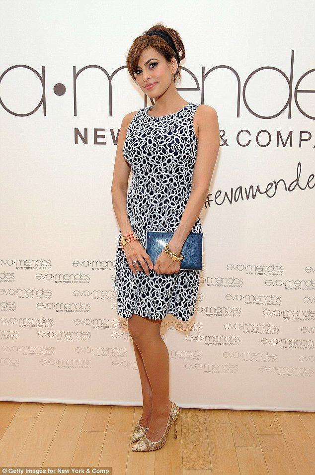 Eva Mendes says it's not fair to critique pregnant women's style