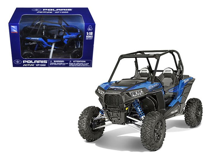 Polaris RZR XP 1000 Dune Buggy Woodoo Blue 1/18 Model by New Ray - Made of diecast with some plastic parts. Detailed interior, exterior. Dimensions approximately L-6.5, W-3, H-4 inches. Please note that manufacturer may change packing box at anytime. Product will stay exactly the same.-Weight: 1. Height: 5. Width: 9. Box Weight: 1. Box Width: 9. Box Height: 5. Box Depth: 5