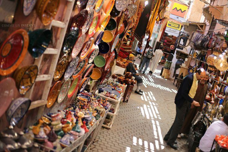 Photographie Marrakech * Souk www.commeuninstant.com