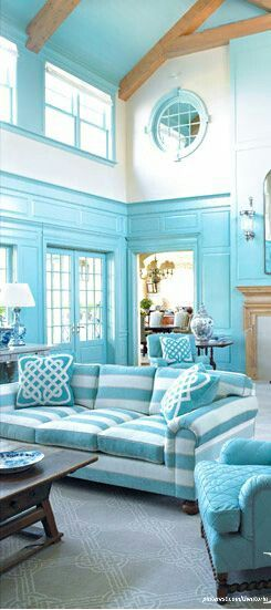 Beautiful #blue room - #colors #photography