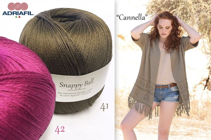 Let's celebrate #summersolstice: new tobacco and fuchsia for #SnappyBall!  What's your favorite? 41, 42 or both?? :)  Who knows if the next gift pattern for those who subscribe to #Adriafil newsletter will be a Snappy Ball one.. Subscribe here! http://bit.ly/AdriafilNLUK_