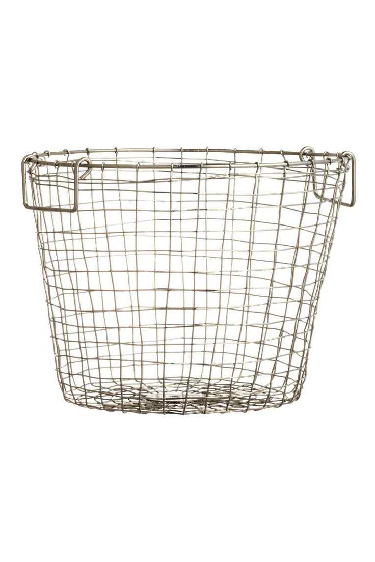 17 id es propos de panier m tallique sur pinterest - Panier de basket amovible ...