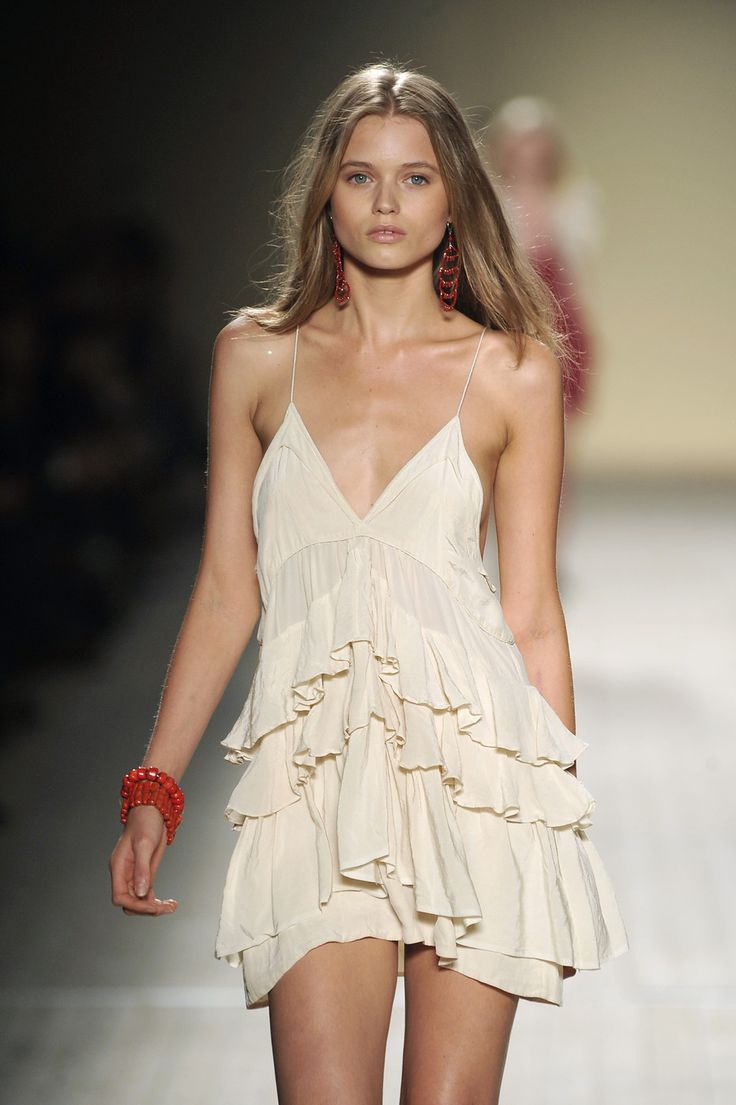 Abbey Lee Kershaw Isabel Marant Spring 2009: Summer Dresses, Isabel Marant Dresses, Summer Style, Fashion Week, Kershaw Isabel, Spring 2009, Abbey Lee Kershaw, Marant Spring, Style Addiction