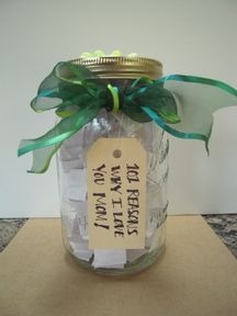 """""""I LOVE YOU"""" JAR -- I think this would be a WONDERFUL summer project for the whole family to do - each person could have a jar - filled with reasons why their family loves them!! AWESOME!! I love it! #indigo #perfectsummer change to Why I love you More!"""