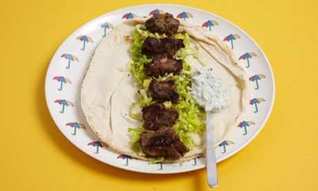 Turkish lamb flatbreads recipe: quick and healthy dinner