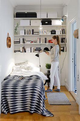 storage above bed